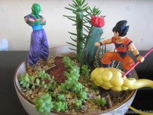 Tabletop Garden - After Jurassic x Dragonball