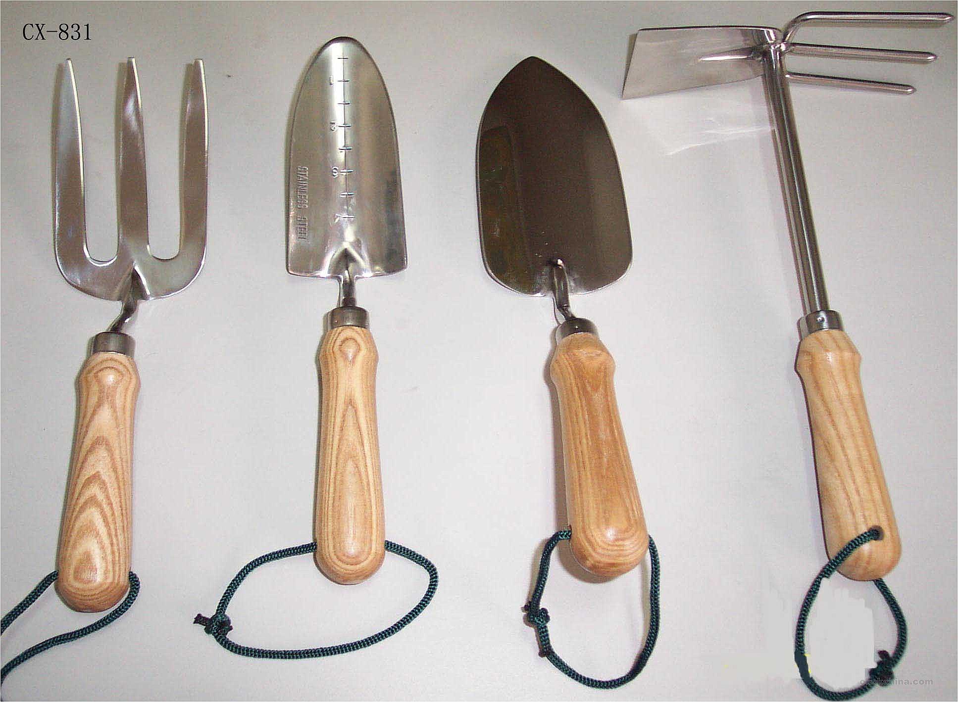 Basic gardening tools pictures